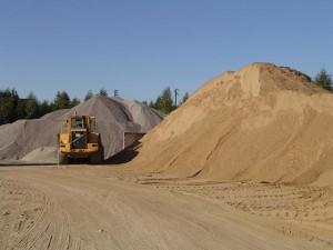 Песок для производства бетона