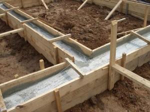 Расчет необходимого объема бетона для ленточного типа основания