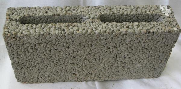 Блок перегородочный керамзитобетонный размеры