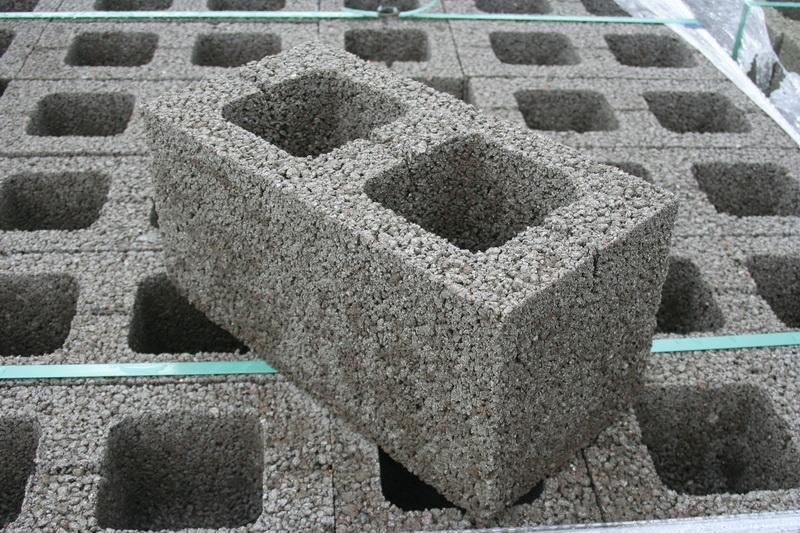 Блоки керамзитобетонные размеры