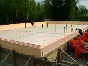 Фундамент финская плита