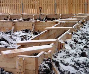 Фундамент зимой плюсы и минусы фото