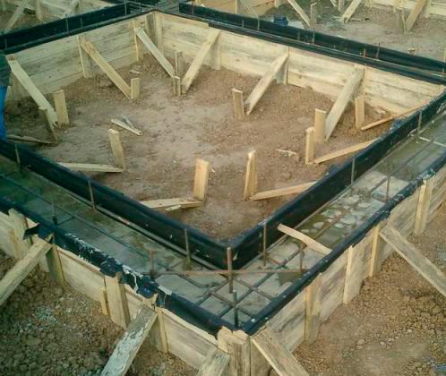 Какой фундамент для дома из бруса