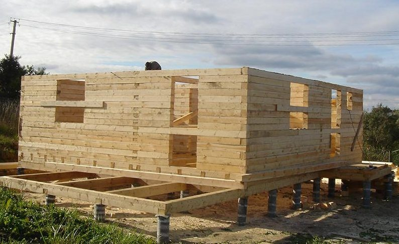 Фундамент для дома из бруса 6х9 своими руками 29