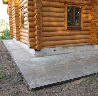 Устройство фундамента под деревянный дом на пучинистых грунтах