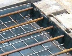Анкеровка арматуры в бетоне