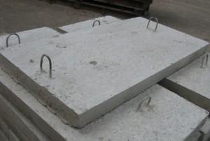 Плиты перекрытия лотков