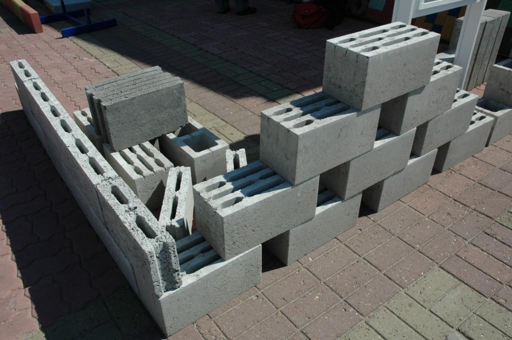 Разновидность блоков из керамзитобетона