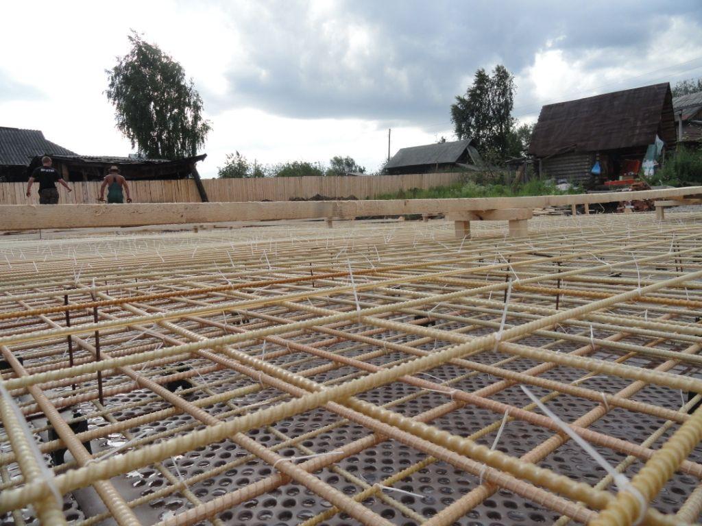 Армирование бетона арматурой