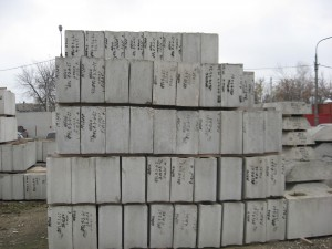 Блоки ЖБИ для фундамента