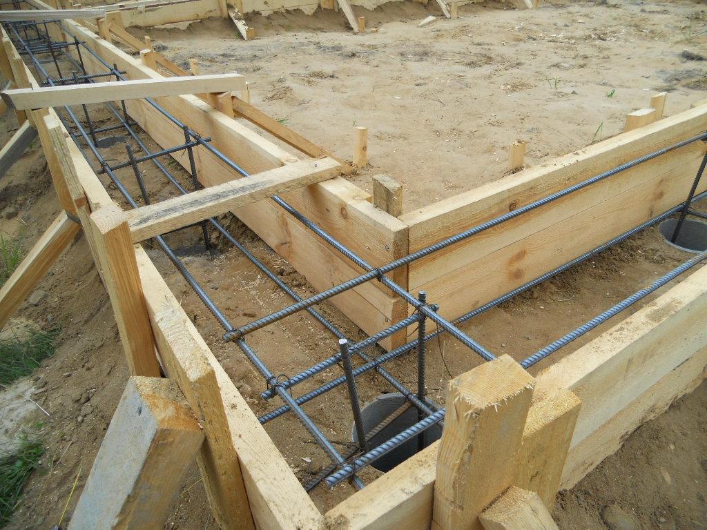 Как самому построить фундамент дома