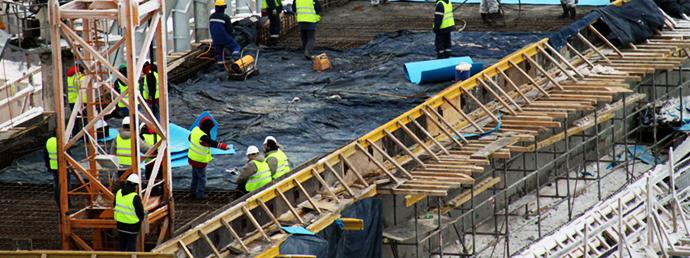 Как прогревать бетон трансформатором