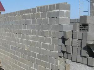Кладка стен из блоков керамзитобетонных