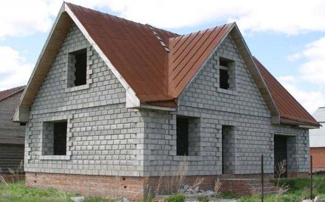 Расчет блоков газобетона на дом