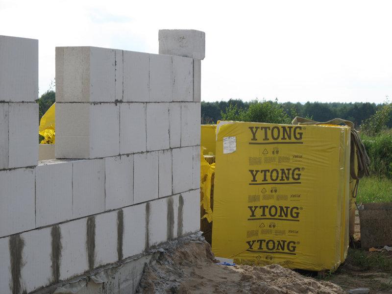 Стеновые блоки Ytong