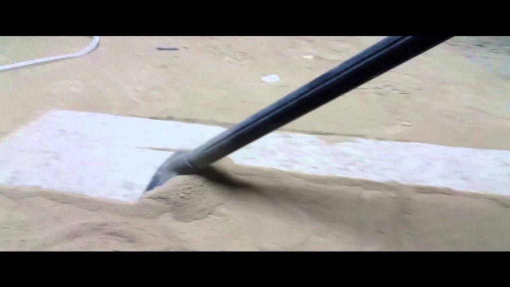 Уборка бетонной пыли