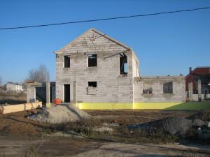 Все этапы строительства дома из газобетона
