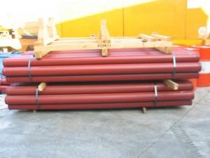 Комплект стального бетоновода для бетононасосов