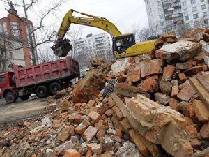 Борьба со строительным мусором в РФ