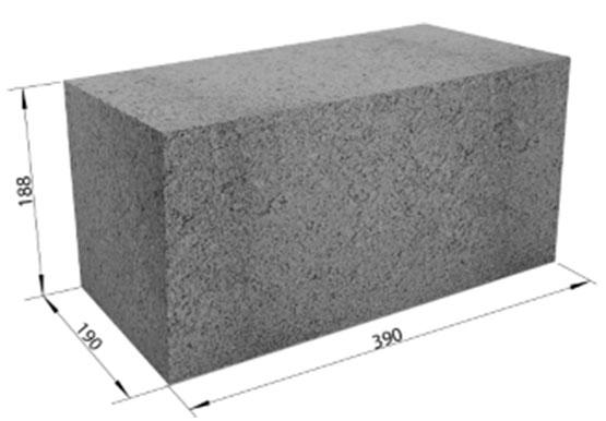 Бетон блок 200 гравий отсев для бетона