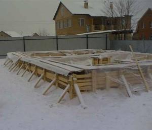 Фундамент зимой плюсы и минусы цена