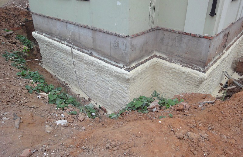 Утепление фундаментов деревянного дома
