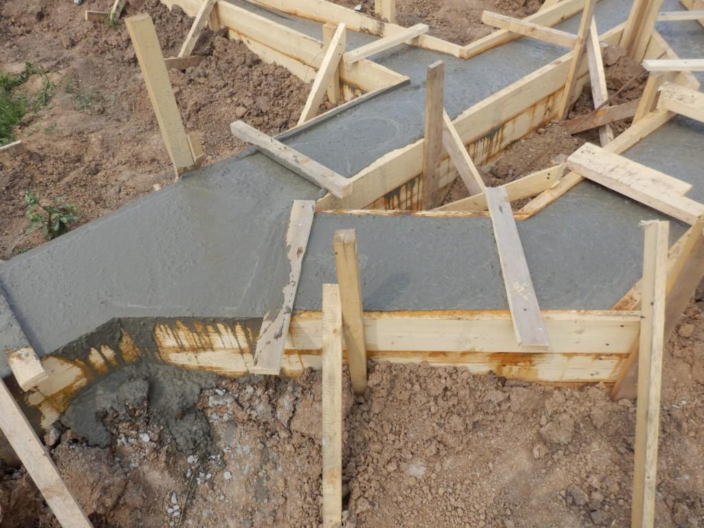 Тип бетона для ленточного фундамента