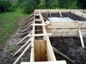 Как сделать фундамент для дома