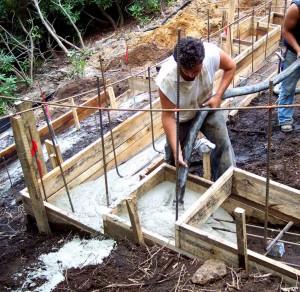 Технология бетонный ленточный фундамент