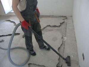 Промышленный пылесос для бетона