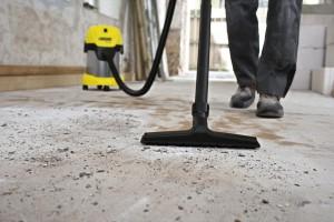 Промышленный пылесос для бетонной пыли