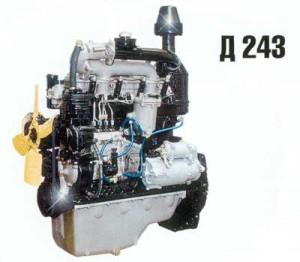 Дизельный двигатель д 243