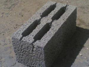 Керамзибетонный блок