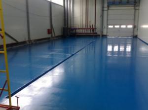 Полиуретановая эмаль для бетонных полов